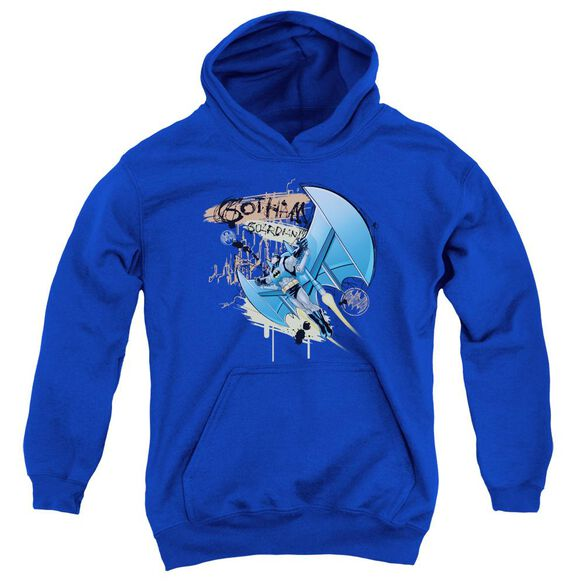 Batman Knight Flight Youth Pull Over Hoodie
