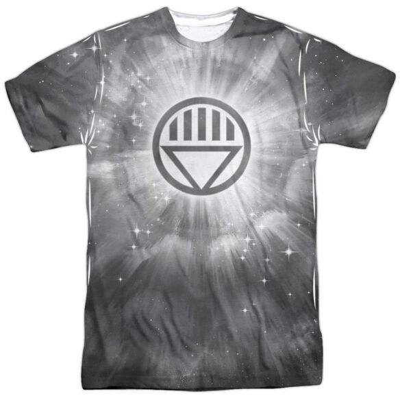 Green Lantern Black Energy Short Sleeve Adult 100% Poly Crew T-Shirt