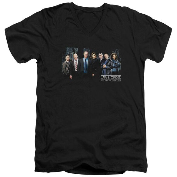Law And Order Svu Cast Short Sleeve Adult V Neck T-Shirt