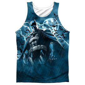 Batman Stormy Knight Adult 100% Poly Tank Top