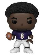 Funko Pop!: NFL - Baltimore Ravens - Lamar Jackson [Home Jersey]