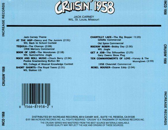 Cruisin 1958 / Various