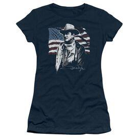 John Wayne American Idol Short Sleeve Junior Sheer T-Shirt