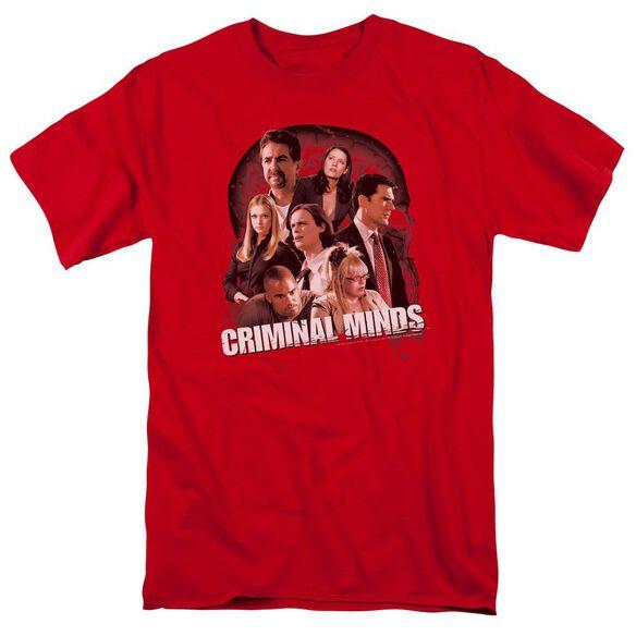 Criminal Minds Brain Trust Short Sleeve Adult T-Shirt