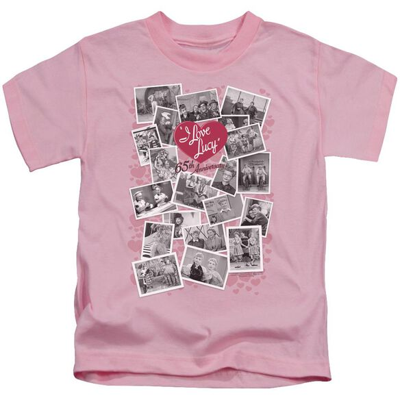 I Love Lucy 65 Th Anniversary Short Sleeve Juvenile T-Shirt