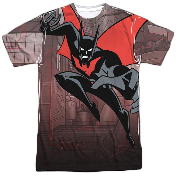 Batman Beyond Bat Tech Short Sleeve Adult Poly Crew T-Shirt