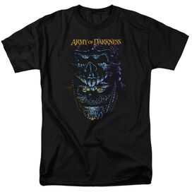 Army Of Darkness Evil Ash Short Sleeve Adult Black T-Shirt