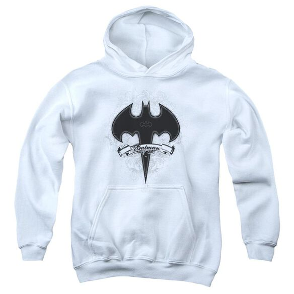 Batman Gothic Gotham Youth Pull Over Hoodie