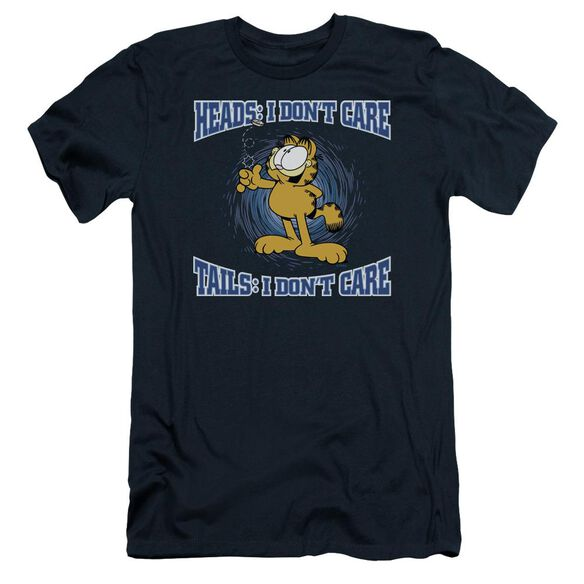 Garfield Heads Or Tails Short Sleeve Adult T-Shirt