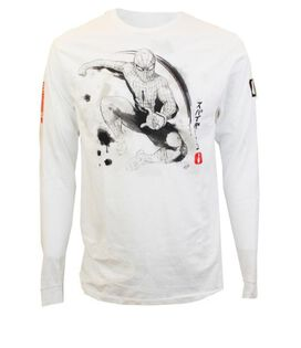 Spider-Man Kanji Long Sleeve T-Shirt