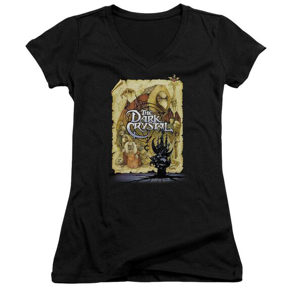 Dark Crystal Poster Junior V Neck T-Shirt