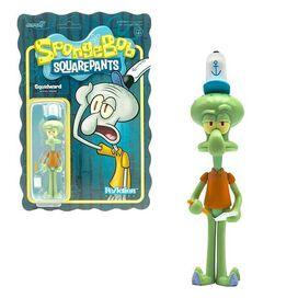 SpongeBob SquarePants Squidward ReAction Figure