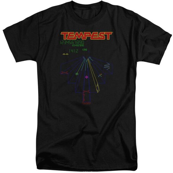 Atari Tempest Screen Short Sleeve Adult Tall T-Shirt