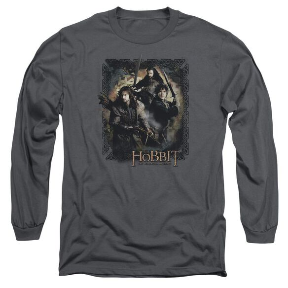 Hobbit Weapons Drawn Long Sleeve Adult T-Shirt