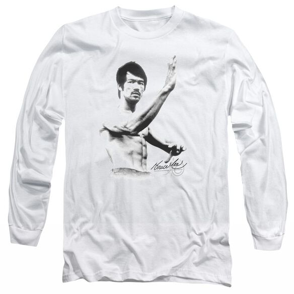 Bruce Lee Serenity Long Sleeve Adult T-Shirt