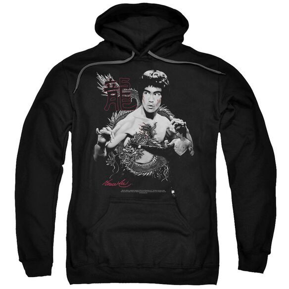 Bruce Lee The Dragon Adult Pull Over Hoodie