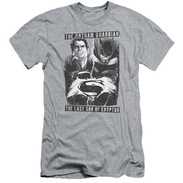 Batman V Superman Guardian V Son Short Sleeve Adult Athletic T-Shirt