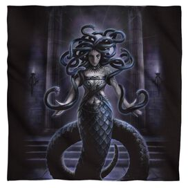 Anne Stokes Serpents Spell Bandana White