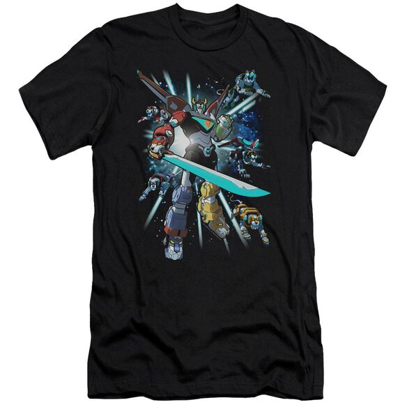 Voltron Lions Share Short Sleeve Adult T-Shirt