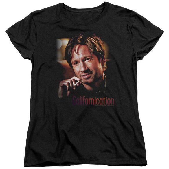 Californication Smoker Short Sleeve Womens Tee T-Shirt