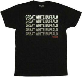 Hot Tub Time Machine Buffalo T-Shirt Sheer