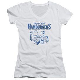Castle 12 Cents Junior V Neck T-Shirt