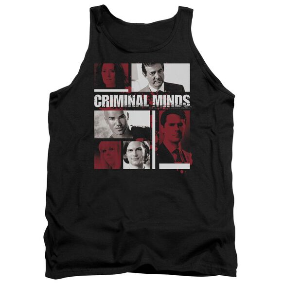 Criminal Minds Character Boxes Adult Tank