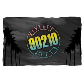 Beverly Hills 90210 Palms Logo Fleece Blanket