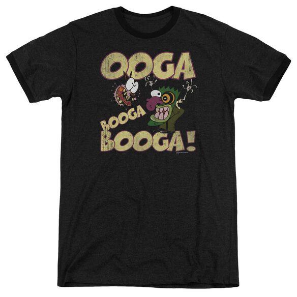 Courage Ooga Booga Booga Adult Heather Ringer