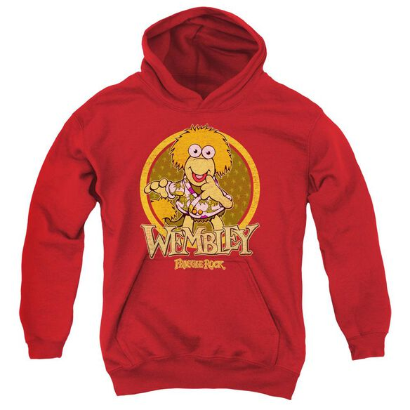 Fraggle Rock Wembley Circle Youth Pull Over Hoodie