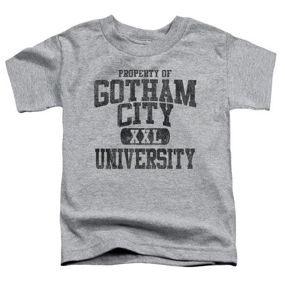 Batman Property Of Gcu Short Sleeve Toddler Tee Athletic Heather Sm T-Shirt