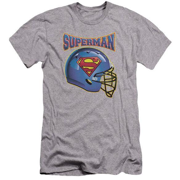 Superman Helmet Premuim Canvas Adult Slim Fit Athletic