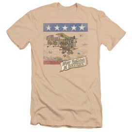 Jefferson Airplane Baxter's Cover Premuim Canvas Adult Slim Fit
