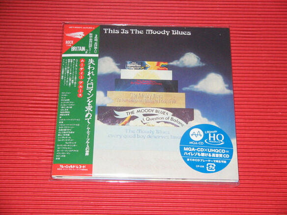 The Moody Blues - This Is The Moody Blues (Paper Sleeve / UHQCD / MQA - 24bit Remaster)