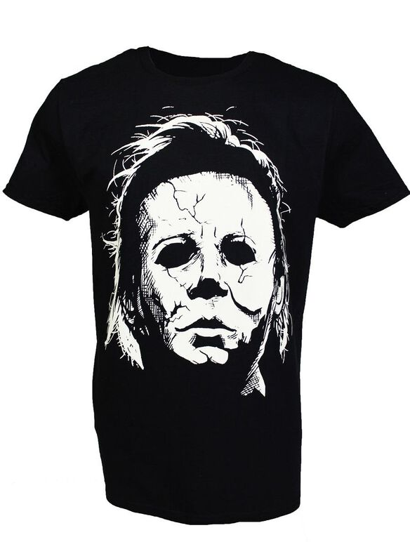 Halloween Michael Myers Glow in the Dark T-Shirt