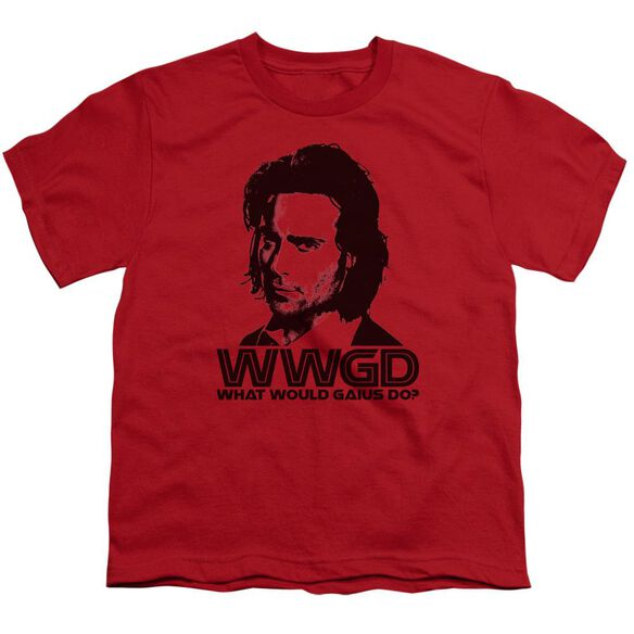 BSG WWGD - S/S YOUTH 18/1 - RED T-Shirt