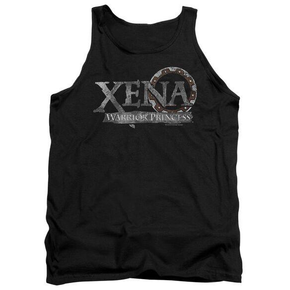 Xena Battered Logo Adult Tank