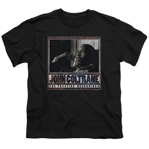 John Coltrane Prestige Recordings Short Sleeve Youth T-Shirt