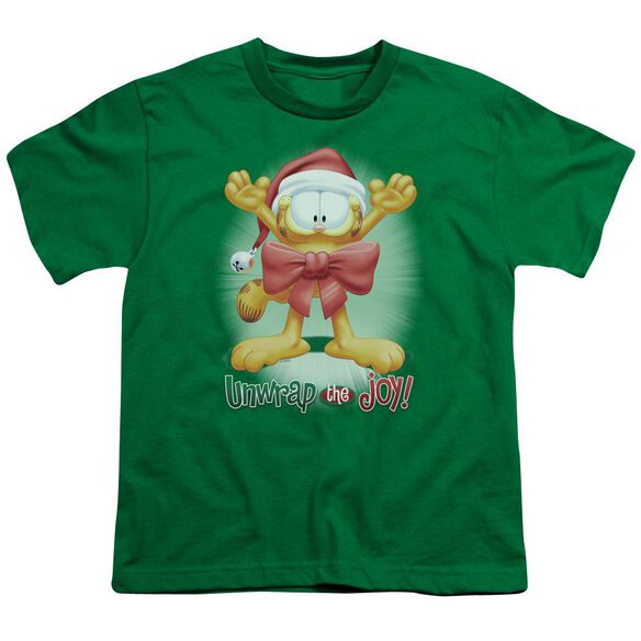 GARFIELD UNWRAP THE JOY!-S/S YOUTH T-Shirt