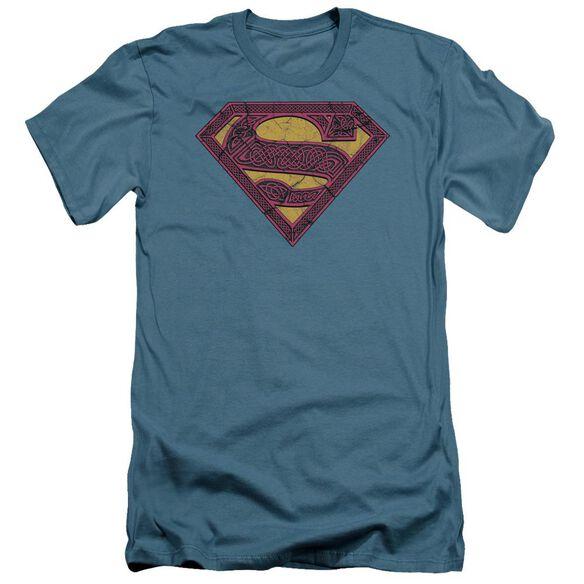 Superman Celtic Shield Short Sleeve Adult T-Shirt