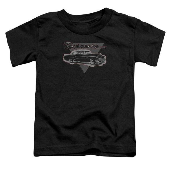 Buick 1952 Roadmaster Short Sleeve Toddler Tee Black T-Shirt