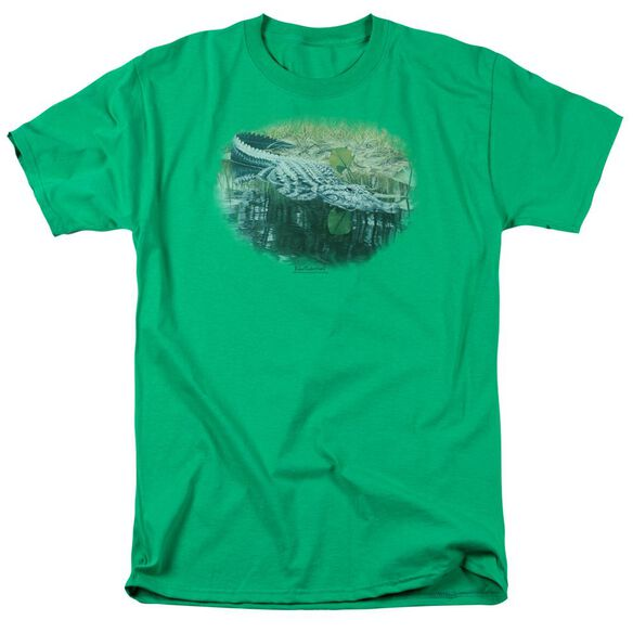 Wildlife The Waters Fine Short Sleeve Adult Kelly T-Shirt