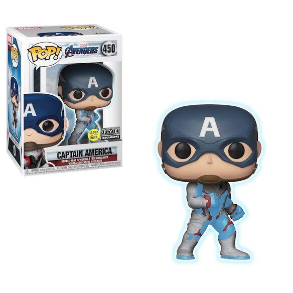 Funko Pop! Marvel Avengers Endgame - Captain America (Glow In The Dark)