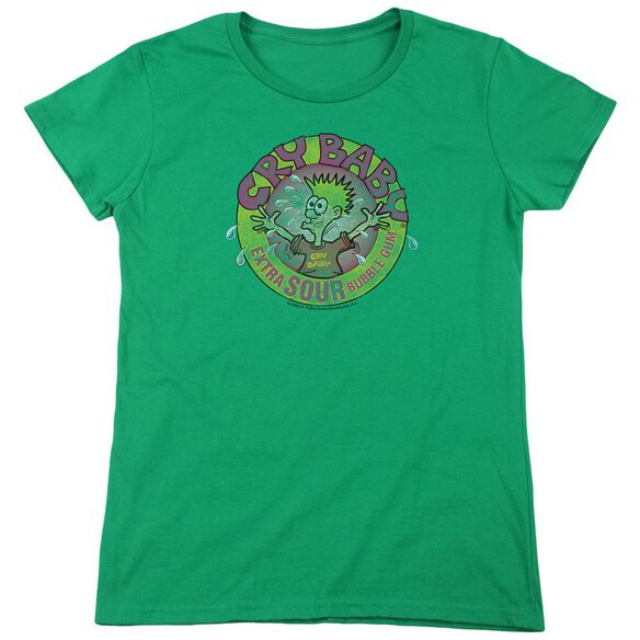 Dubble Bubble Logo Short Sleeve Womens Tee Kelly T-Shirt