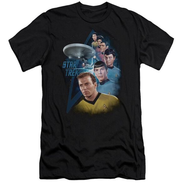 Star Trek Among The Stars Premuim Canvas Adult Slim Fit