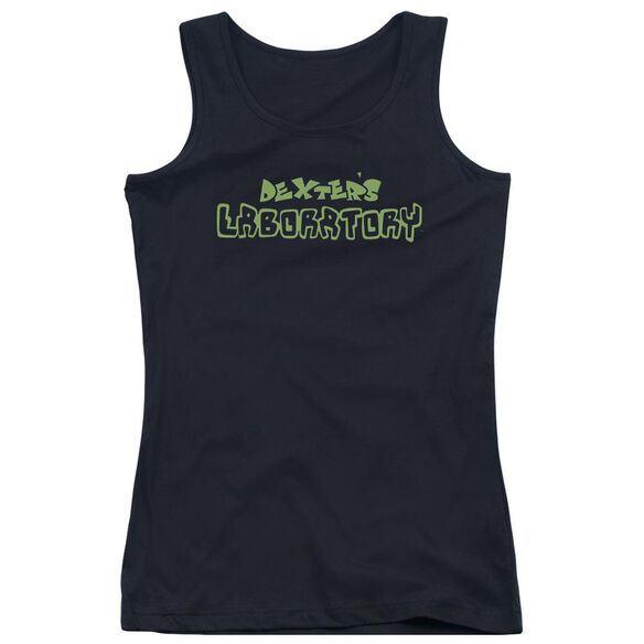 Dexters Laboratory Dexters Logo Juniors Tank Top