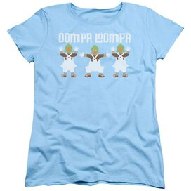 3e1109f7 Willy Wonka And The Chocolate Factory Oompa Loompa Short Sleeve Womens Tee  Light T-Shirt