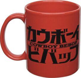 Cowboy Bebop Spike Spiegel Sketch Red Mug