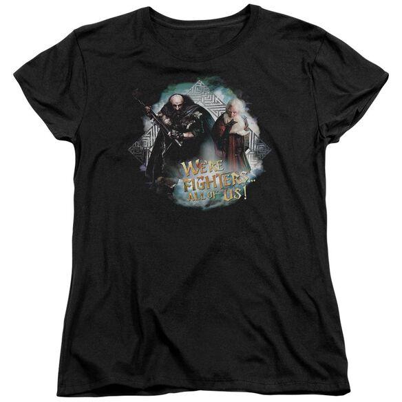 The Hobbit Were Fighers Short Sleeve Womens Tee T-Shirt