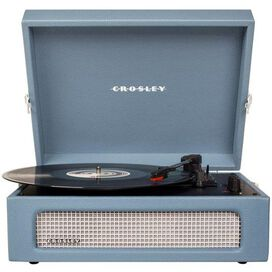 Crosley Voyager Turntable Washed Blue